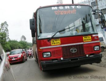 nashik city bus msrtc nmc