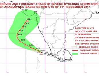 story behind naming ockhi cyclone marathi information ओखी वादळ