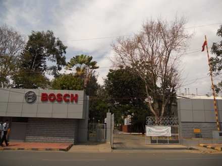 10 crore fraud copying Bosch Company's spare parts