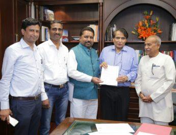 start Nasik Delhi Kolkata air service MP Chavan Suresh Prabhu