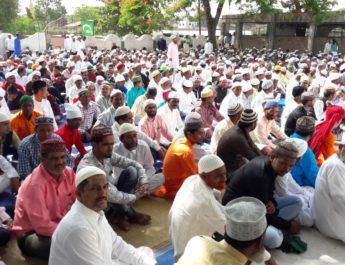 Ramjan Eid celebration lasalgaon nashik