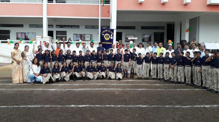 new grace academy national flag awareness