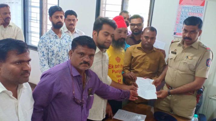 file case against nashik mayor amhi nashikkar mundhe transfer consecution