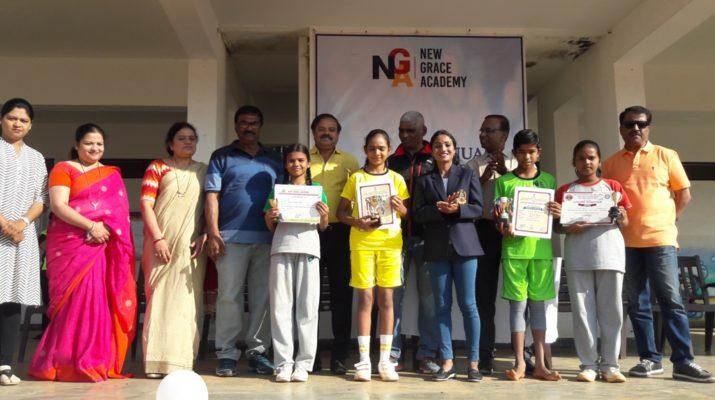 new grace academy nashik sports day celebration 2019