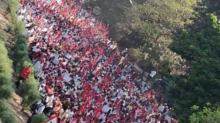 Nashik Mumbai Long March 2019