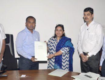 MOU Godrej district administration farmers capacity building dio news nashik