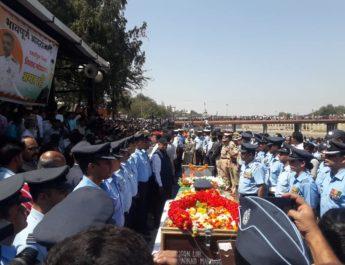 ninad mandgavane nashik iaf 2 funeral pics