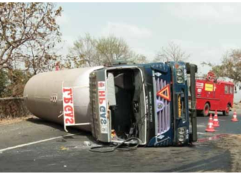 gas tanker truck accident