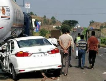 Singer Geeta Mali Dead Nashik Mumbai Highway Accident Marathi News On Web नाशिक प्रसिद्ध गायिका गीता माळी मृत्यू अपघात Latest NashikOnWeb