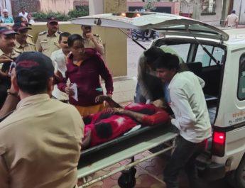 Woman Burnt Lasalgaon Nashik लासलगाव महिलेला भर दिवसा पेट्रोल टाकून जाळले News On Web Latest Updates NashikOnWeb Marathi Batmya हिंगणघाट