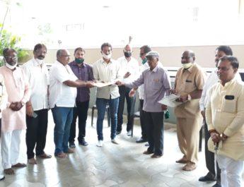Nabhik salon Issues Coronavirus salon owners established action committee Sanjay Gaikwad Nashik नाभिक समाज केशकर्तन नाशिक कोरोना कृती समिती